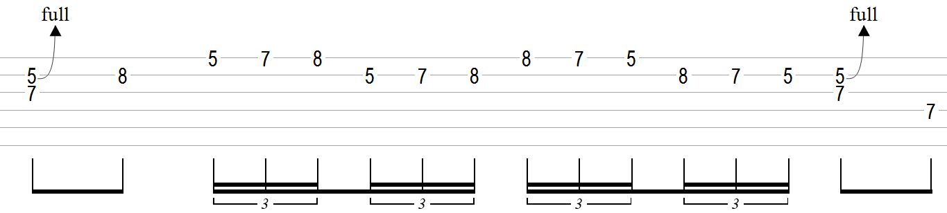 Double-Stop-Blues-Guitar-Lick-With-Fast-Run